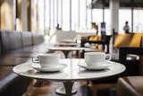 Read quietly at an espresso bar
