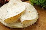 Freshly made tortillas