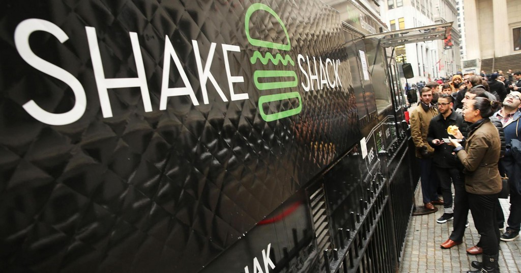 Shake Shack Truck NY Stock Exchange