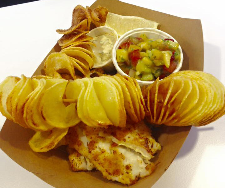 Cabana cape Cod Food Truck Fish and Chips