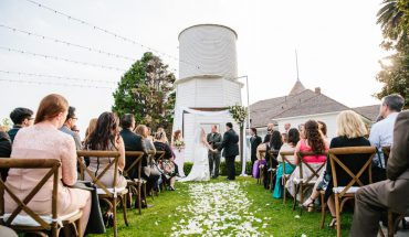 newland barn is a great place for a food truck wedding