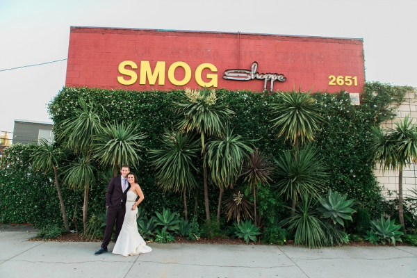 The Smog Shoppe is a food truck friendly wedding venue