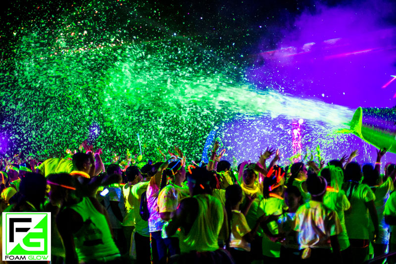 Foam Glow 5k Roaming Hunger