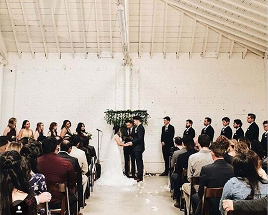 Industrial Chic Los Angeles Wedding Venue 2
