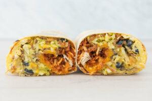 Brekkie breakfast burrito, a virtual brand from chef Eric Greenspan.