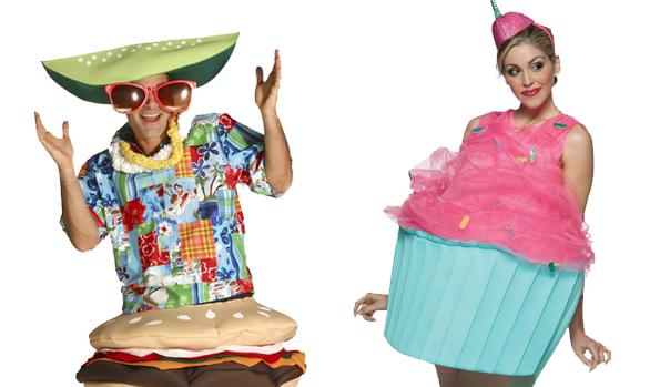 Hamburger Costume and Cupcake Costume