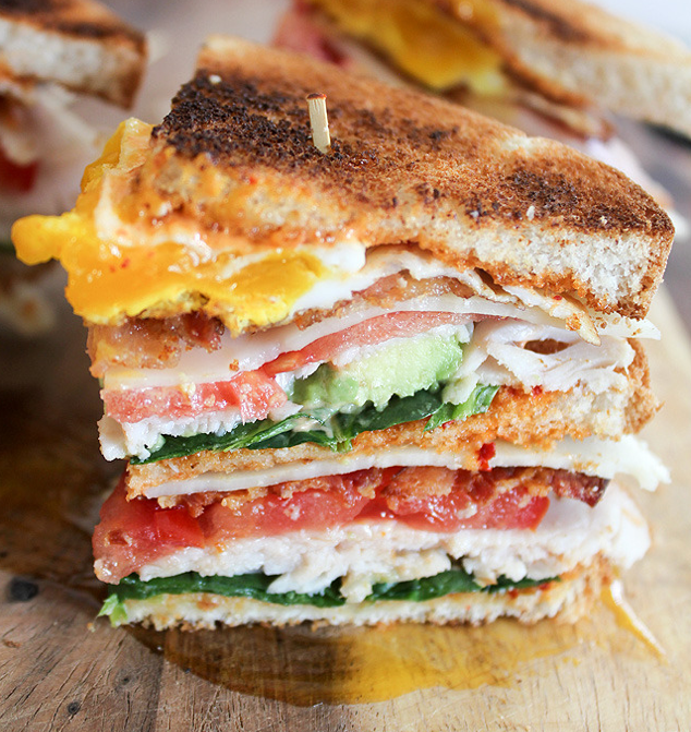Malcolm Bedell's version of a club sandwich