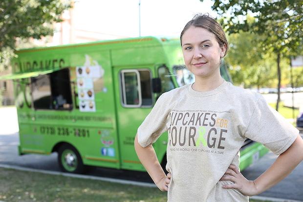 Laura Pekarik of Cupcakes for Courage
