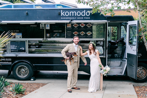 food trucks are perfect for a rustic wedding