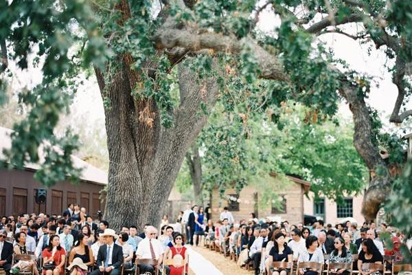 paramount ranch is a great venue for a food truck wedding